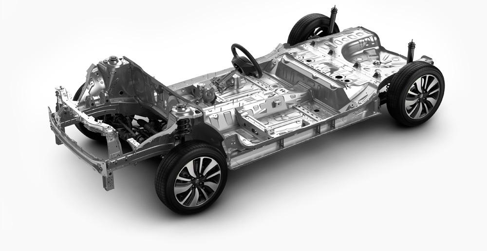 Suzuki Swift -perusrakenne